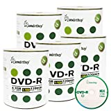 Smart Buy 500 Pack DVD-R 4.7gb 16x Logo Blank Data Video Movie Recordable Disc, 500 Disc 500pk