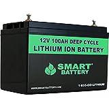 SMART BATTERY® 12V 100AH Lithium Ion Battery