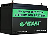 SMART BATTERY 12V 100AH Lithium Ion Battery