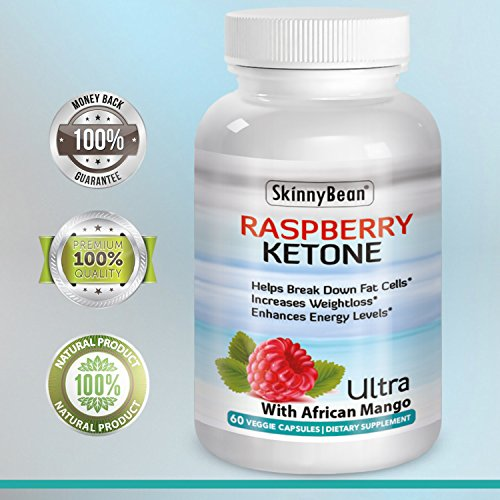 RASPBERRY KETONES, PLUS Ketones Potent Fat Burner Capsules PLUS African Mango extract powder for weight loss diet pills with grape seed & apple cider vinegar