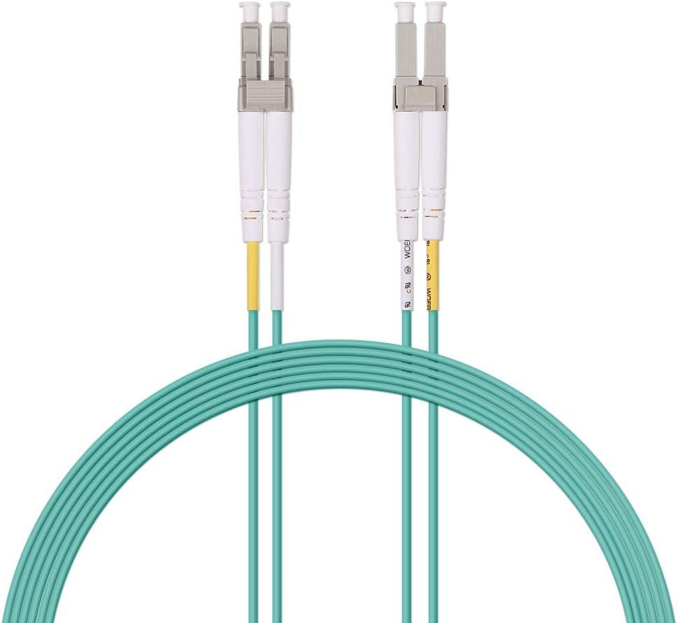 Computer Cables 2 pcs SC-SC 3 Meters Single Mode Fiber Optic Cable Jumper transceiver Pigtail Cable Length: 3m