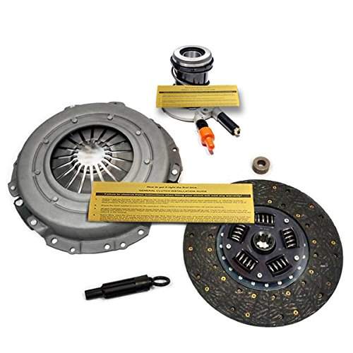 EFT HD CLUTCH KIT+SLAVE 88-92 BRONCO F150 F250 F350 4.9L 8500GVW+ 5.0L 5.8L 5-SPD