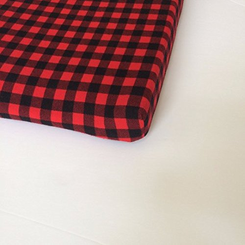 Changing Pad Cover - Buffalo Plaid Flannel