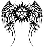 "Anti-Possession Symbol Car Decal Sticker Supernatural catholic voodoo demons (7"" inch)"