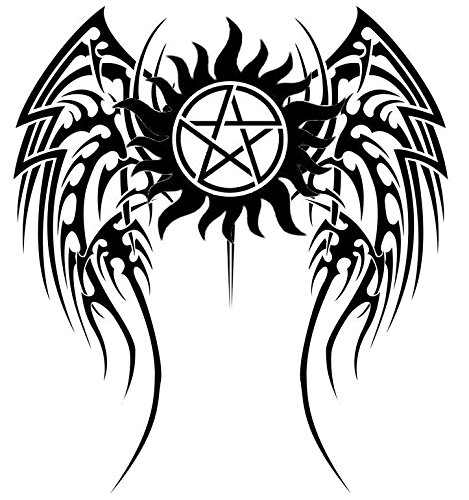 Anti-Possession Symbol Car Decal Sticker Supernatural catholic voodoo demons (7