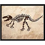 Cuadro Decorativo Fossil Dinosaurio Dinosaur Boys Kids Brothers Niños Hombres Funny Love Peace Quote Frase Blanco y Negro Cuadro decorativo Print Animales Regalo Arte Poster Cuadro Decorativo Art Wall Art Vintage Decor Home Decor Decoración Retro Hipster Cool Boys Room Cuarto Niños Children