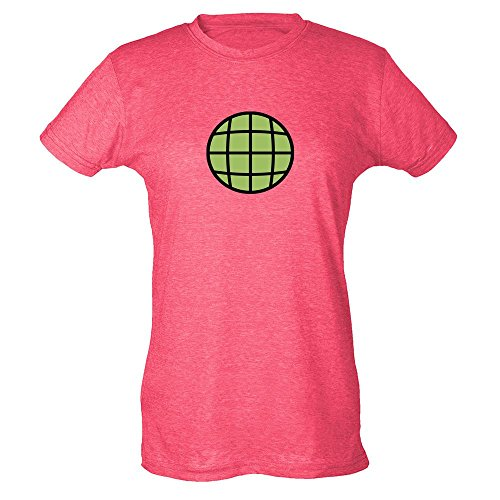 Planeteer Costume (Planeteer Costume Heather Fuchsia M Womens T-Shirt by Pop Threads)