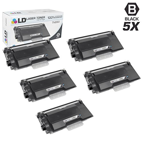 LD © Compatible Brother TN890 Pack of 5 Ultra High