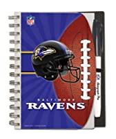 Baltimore Ravens Deluxe Hardcover, 5 x 7 Inches Autograph Book and Pen Set, Team Colors (12025-QQA)