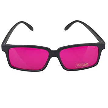 32e6e17864153 Image Unavailable. Image not available for. Color  Square Color Blindness  Corrective Glasses ...