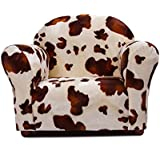 Keet Roundy Faux Fur Childrens Chair, Pony
