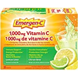 Emergen-C® Lemon-Lime (30 Count), 1000mg Vitamin C / Electrolytes / B Vitamins Mineral Supplement