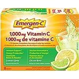 Emergen-C® Lemon-Lime (30 Count), 1000mg Vitamin C / Electrolytes / B Vitamins Mineral Supplement