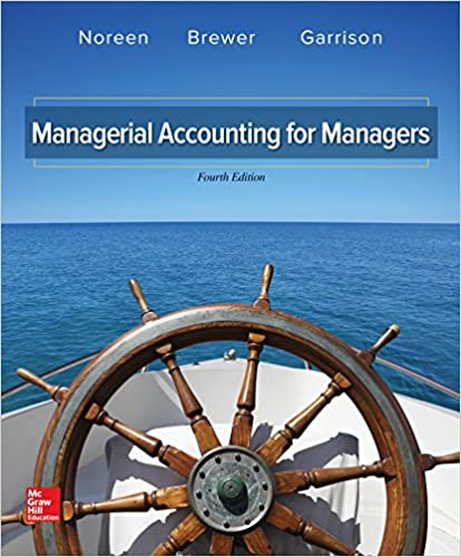 Managerial Accounting for Managers: Eric Noreen, Peter C