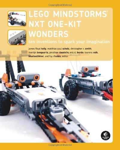 Nxt 1 - LEGO MINDSTORMS NXT One-Kit Wonders: Ten Inventions to Spark Your Imagination