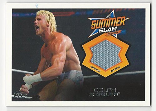 2013 Topps WWE Summerslam Mat Relics Dolph Ziggler #10 NM Near Mint MEM from Summerslam Mat Relics