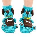 Coxeer Christmas Socks 3D Animal Non-Slip Household Floor Socks Winter Slipper for Women