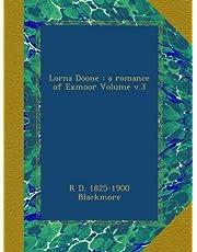 Lorna Doone : a romance of Exmoor Volume v.3