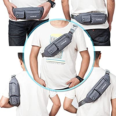 AONIJIE Premium Waterproof Waist Pack Running/Belt Exercise Bag