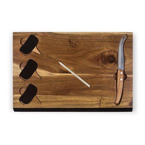 PICNIC TIME Boston College Eagles Delio Cutting Board and Cheese Tool Set