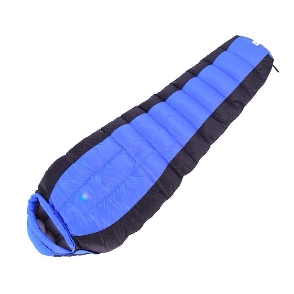 キャンプライト寝袋通気性の暖かい3-4シーズンコットンパッド寝袋用屋外ハイキングフェスティバル (色 : 青, サイズ さいず : 1.2kg) B07QFMJLGB 青 1.2kg