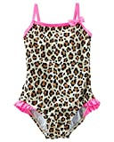 OshKosh B'gosh Baby Girls' Leopard Print Swimsuit