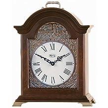 "Ridgeway Clock Co. ""Serenity"" Carriage Clock in Ebony Luster - 6004"