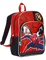 Marvel Spiderman 16'' Deluxe Front Pocket Kids Backpack