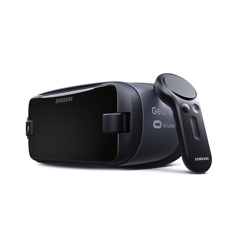 75c8a044963a Amazon.com  Samsung Gear VR w Controller (2017) SM-R325NZVAXAR (US Version  w Warranty)  Cell Phones   Accessories