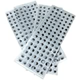Creation Station 10 mm Peel and Stick Wiggle Eyes Sheets of 4 sheets x 96 = 384, Black