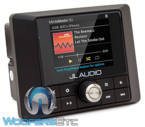 JL Audio MediaMaster MM-50 Marine Digital Media Receiver with Bluetooth