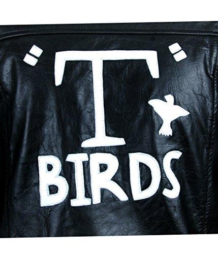 Flesh & Hide F&H Mens Grease T Birds Danny Zuko John Travolta Jacket: Amazon.es: Ropa y accesorios