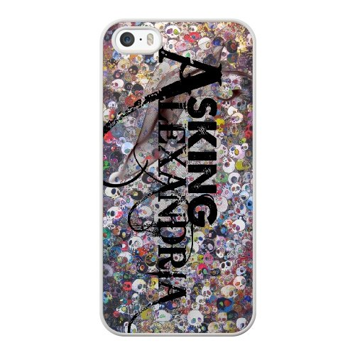 Coque,Coque iphone 5 5S SE Case Coque, Asking Alexandria Right Now Cover For Coque iphone 5 5S SE Cell Phone Case Cover blanc