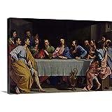 "Philippe de Champaigne Premium Thick-Wrap Canvas Wall Art Print entitled The Last Supper, 1648 48""x32"""