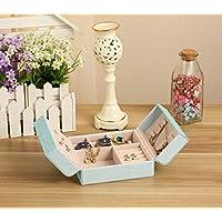Luxury Crocodile Grain Jewelry Box Jewelry Storage Box Packaging Case Organizer