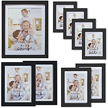 Amazon.com: Giftgarden 8x10 Picture Frame Multi Photo Frames Set ...