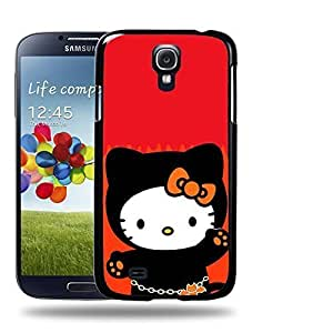dagongsi Designs Hello Kitty Collection 0626 Protective Snap-on Hard Back Case Cover for Samsung Galaxy S4