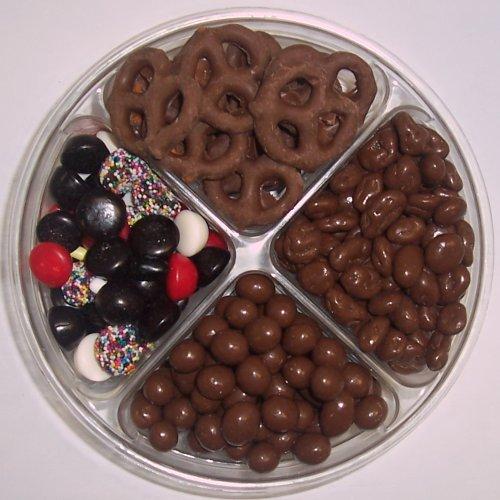 Scott's Cakes 4-Pack Licorice Mix, Chocolate Pretzels, Chocolate Rasins & Chocolate Peanuts by Scott's Cakes