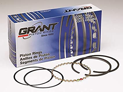 390 360 392 322 NASH CID 301 GRANT PISTON RINGS C2271 DODGE TRUCK 327 365 350 FORD CHRYSLER WILLYS 302 351 STUDEBAKER .040-4.040 Plain Compatible with GM 400