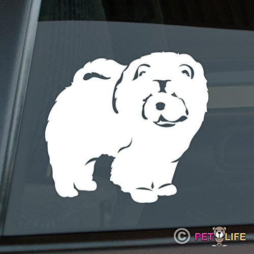 - Chow Chow Sticker Vinyl Auto Window