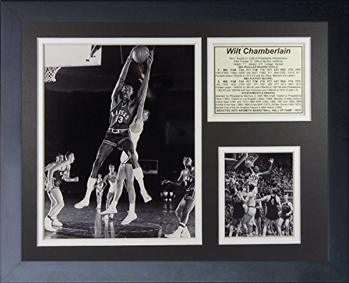 Legends Never Die Wilt Chamberlain Kansas Jayhawks Collage Photo Frame, 11