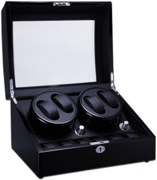 K-Y Caja Relojes Automaticos Automático Reloj Winder Meter Reloj ...