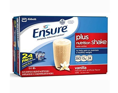 (Ensure High Protein, Homemade Vanilla Shake, Nutritional Drink, 8 Fluid Ounce Bottles (Pack of 24))