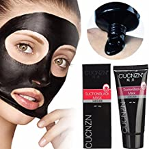 Oil-control, Anti-Acne Peel-off Black Mud Face Mask - Daily Use Deep Cleansing Blackhead Remover - Dirt and Pore Cleaning Facial Care for Smoother and Tender Skin