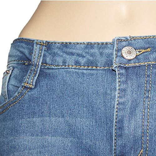 STRIR Vaqueros lápiz Flaco Pantalones Pantalones Mujer Largos Vaqueros Pantalones Slim Pantalones Jeans fit Mujer Stretch elásticos 86nIqFqU1