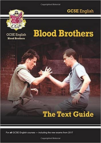grade gcse english text guide blood brothers cgp gcse  grade 9 1 gcse english text guide blood brothers cgp gcse english 9 1 revision amazon co uk cgp books 9781782943112 books