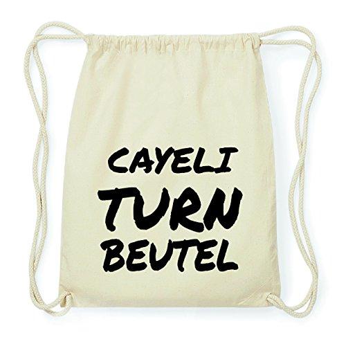 JOllify CAYELI Hipster Turnbeutel Tasche Rucksack aus Baumwolle - Farbe: natur Design: Turnbeutel m0kKz9YE