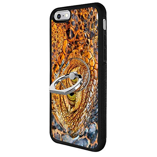 - YQCi Compatible with iPhone 6s Plus 6 Plus 360 Full Body Slim Cover Soft Flexible TPU Protector Skin with Ring Holder Stand for iPhone 6s Plus 6 Plus-Crocodile Eyes