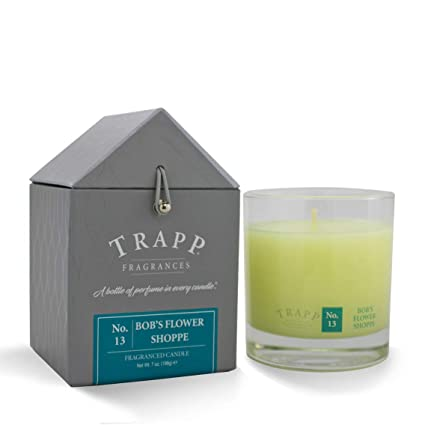 Trapp Signature Home Collection No  13 Bob's Flower Shoppe Poured Scented  Candle, 7-Ounce