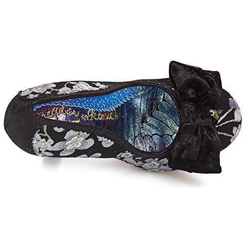 Silver Black Vestir Silver Zapatos Choice Black para Mujer Irregular de UvqZA